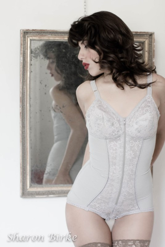 Grandmother's Corset Boudoir by Sharon Birke www.PowerfulGoddess.com