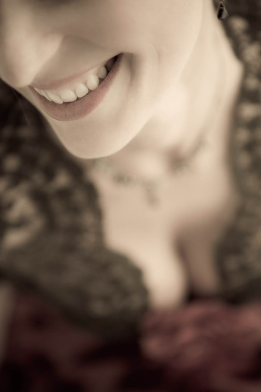 Smile and Lace by Sharon Birke www.PowerfulGoddess.com