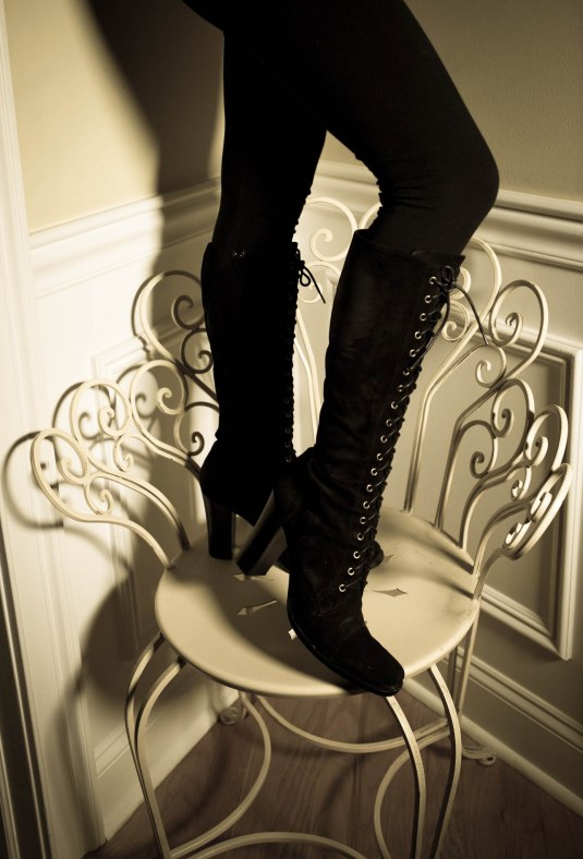 Lace Up Boots by Sharon Birke www.PowerfulGoddess.com