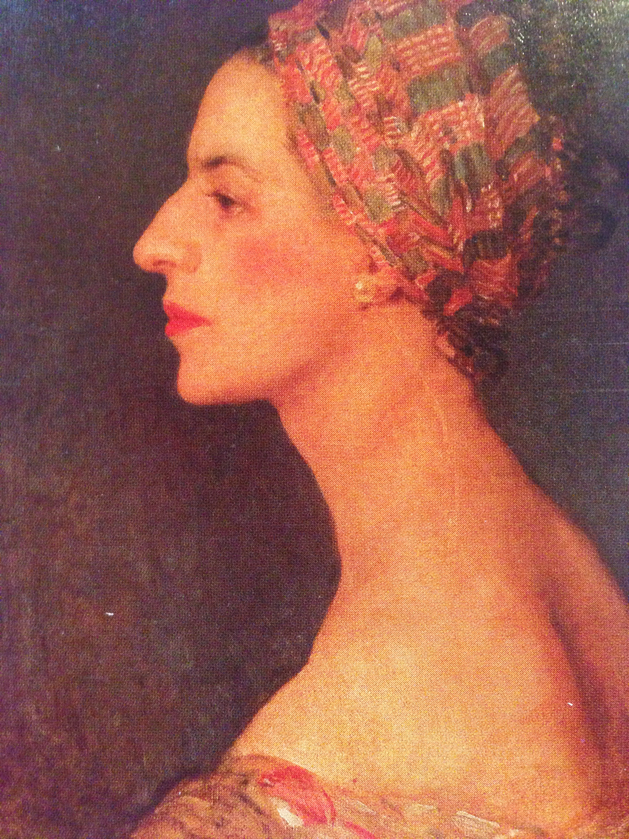 Diana Vreeland painting by Edward Murray