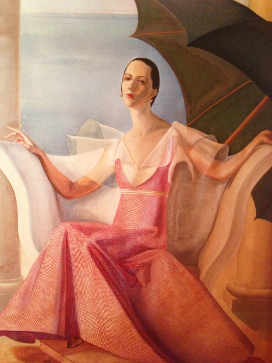 Diana Vreeland painting by William Acton