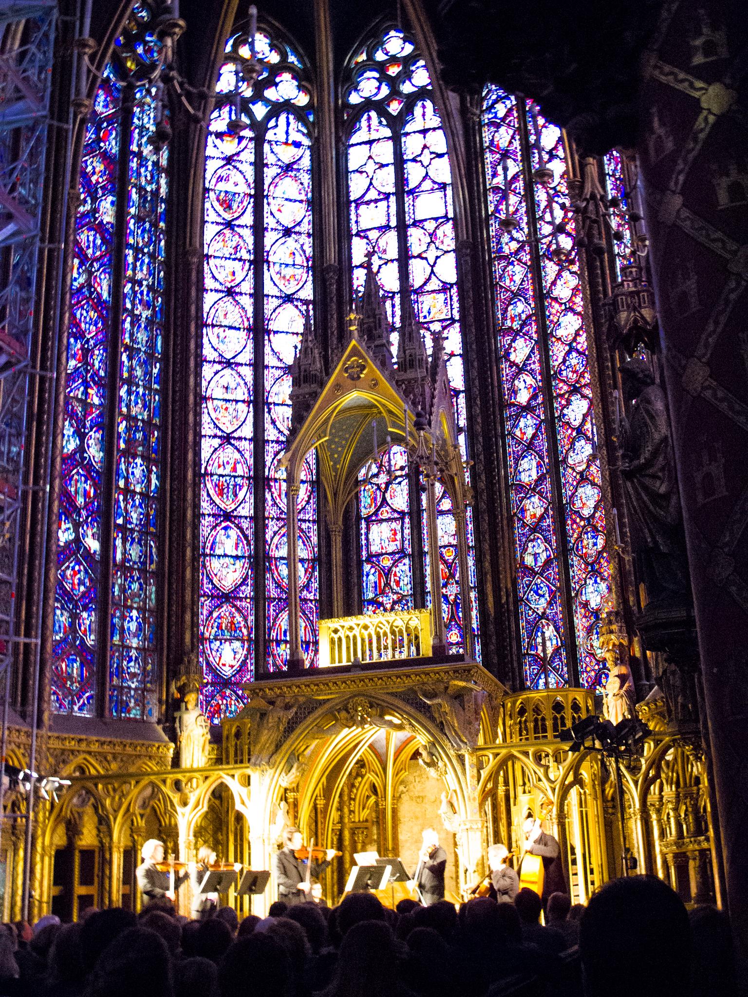 Paris Saint Chapelle by Sharon Birke www.PowerfulGoddess.com