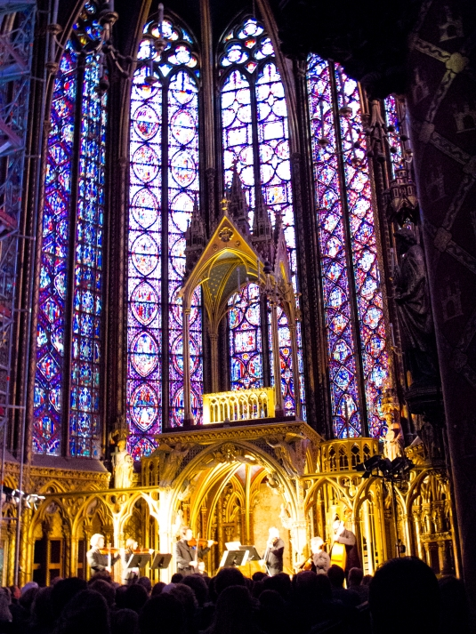 Paris Saint Chapelle by Sharon Birke www.PowerfulGoddess.com