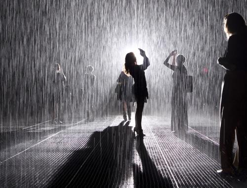 MOMA Rain Room