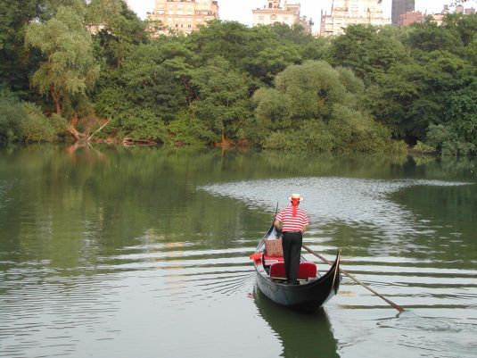 Central Park gondola ride