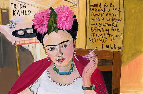 Frida Kahlo by Maira Kalman