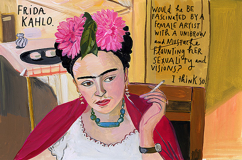 Frida Kahlo by Maira Kalman