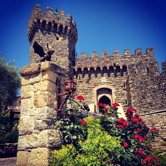 Castillo Di Amorosa romantic castle vineyard in Napa Valley