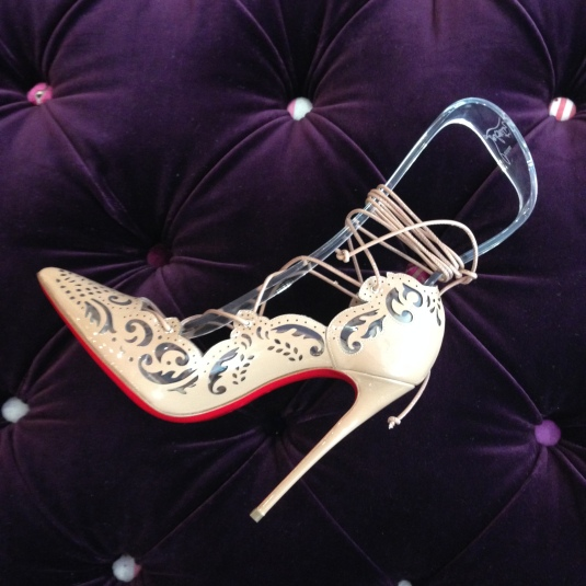 Christian Louboutin Impera red sole pumps heels San Francisco