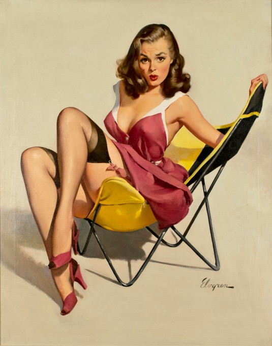 Gil-Elvgren-Low-Down-Feelings-pinup