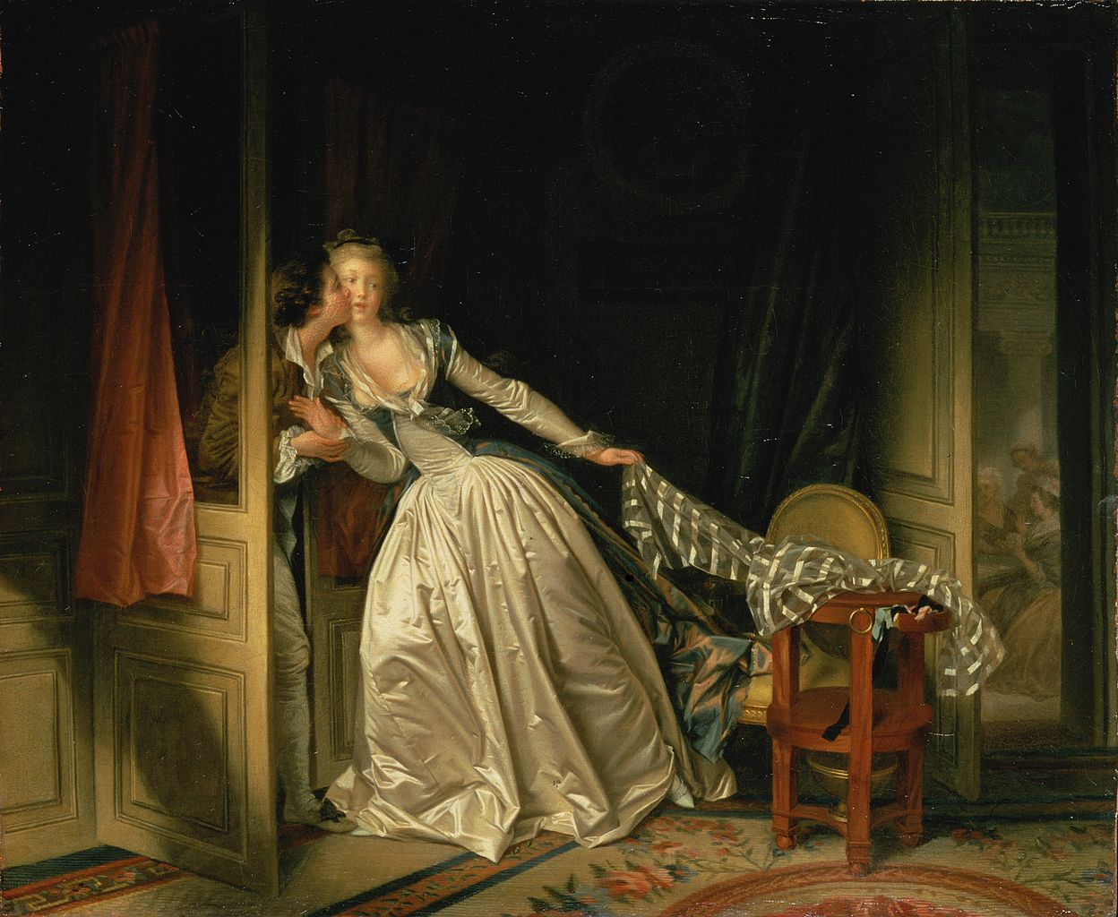 Margaret-Gerard-The-Stolen-Kiss-Powerful-Goddess-Portraits