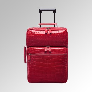 Tanthony-red-alligator-carryon-suitcase