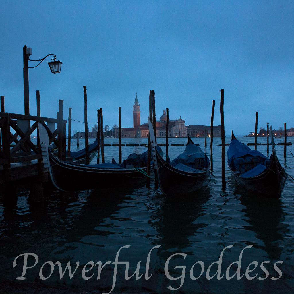 Venice-Gondolas-San-Giorgio-Island-Powerful-Goddess-Portraits-by-Sharon-Birke-9510